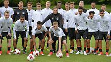 Wenn ihnen dieses Meisterstück gelingen sollte, winkt den DFB-Junioren möglicherweise eine glänzende Zukunft.