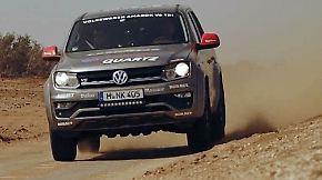 Von Dakar nach Moskau: Rainer Zietlow wagt sich mit VW Amarok V6 auf Rekordfahrt
