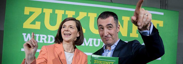 Zuversicht trotz mieser Umfragewerte: Grüne stimmen auf Parteitag über Wahlprogramm ab