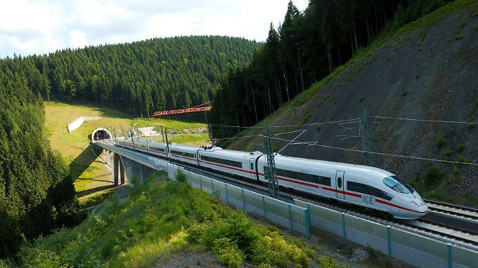 """Die """"Allianz pro Schiene"""" wünscht sich noch viel mehr Züge in Deutschland."""