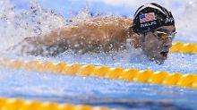 Schwimmstar vs. Raubtier: Phelps fordert Weißen Hai zum Duell