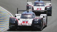 Porsche muss nach nur vier Stunden auf einen seiner Boliden in Le Mans verzichten, der um den Sieg in der LMP1 kämpfen kann.