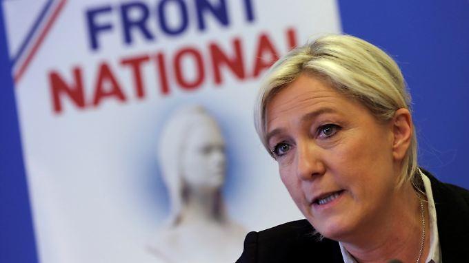 Marine Le Pen sitzt künftig für den Front National in der Nationalversammlung.