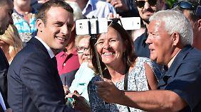 Auf Emmanuel Macron ruhen die Hoffnungen all jener, die die Kaste der Berufspolitiker in Frankreich leid waren.