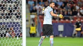 Gianluigi Donnarumma wurde von den eigenen Fans angefeindet.