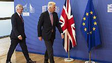 Ein Jahr nach Referendum: Brexit-Verhandlungen starten versöhnlich