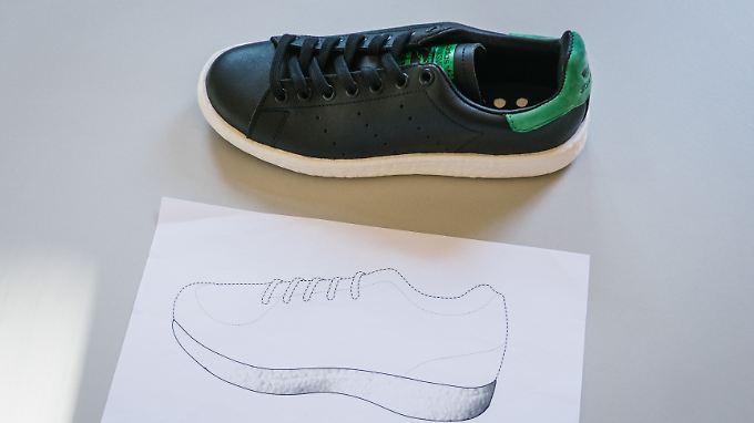 Um diesen Schuh - und das Puma-Geschmacksmuster darunter - geht es.