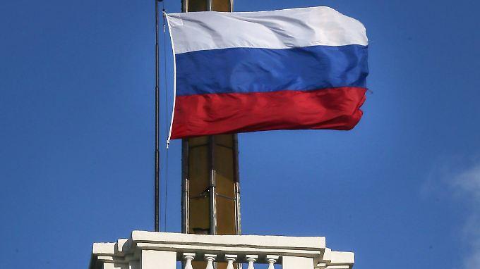 Die russische Flagge weht nun über den öffentlichen Gebäuden der Krim.
