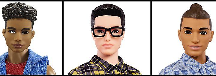 Mehr Pfunde, Hipster-Brille, Männer-Dutt: Ken bekommt neuen Look verpasst