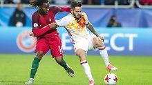 U21-Fußballer schlagen Portugal: Titelfavorit Spanien stürmt ins EM-Halbfinale