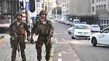 Brüsseler Bahnhof wieder offen: Mutmaßlicher Attentäter ist identifiziert