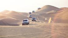Wüstentrip mit Adrenalin-Kick: Auf Safari im Sand von Dubai