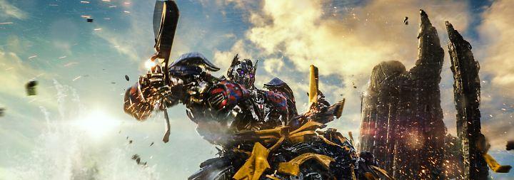 Die Transformers drehen ab: Und Merlin rotiert im Grab