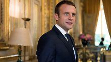 """""""Europa ist kein Supermarkt"""": Macron wirbt für """"europäische Renaissance"""""""