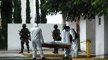 Krieg der Drogenkartelle: Mordrate in Mexiko erreicht neuen Rekord