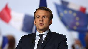 Vorwurf an Osteuropa: Macron will mit Deutschland Neuanfang für Europa schaffen