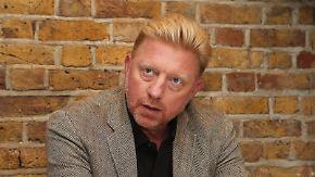 Dementi des Tennisstars: Londoner Gericht erklärt Boris Becker für bankrott