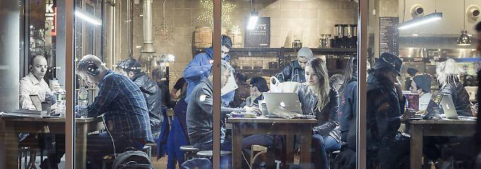 Start-ups brauchen mehr als Kaffee und Gratis WLan.