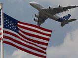 Auftragsflaute in Le Bourget: Airbus gibt sich Boeing geschlagen