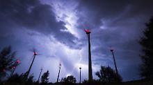 Spitzenwerte bis zu 35 Grad: Unwetter ziehen Richtung Osten ab