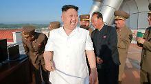 Spannungen nach Warmbiers Tod: Nordkorea testet erneut Raketentriebwerk