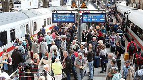 Chaos nach Unwettern: Bahnverkehr in Teilen Norddeutschlands unterbrochen