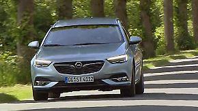 Athletisches Flaggschiff: Neuer Insignia Kombi von Opel überzeugt in allen Straßenlagen