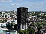 Hochhausbrand in London: Betreiber setzte auf billige Verkleidung