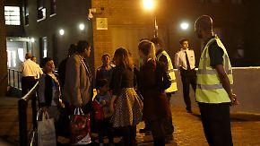 Vorsichtsmaßnahme der Behörden: Mehrere Hochhäuser in London wegen Brandgefahr geräumt