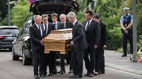Inszenierung mit leerem Sarg: Leichnam von Kohl noch im Haus in Oggersheim