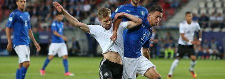 Trotz Niederlage gegen Italien: U21 zittert sich ins Halbfinale