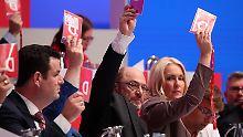 """""""Wir sind kampfbereit"""": SPD beschließt einstimmig ihr Wahlprogramm"""