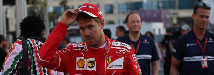 """""""Das schlimmste Gefühl"""": Vettel muss Rambo-Gespenster vertreiben"""