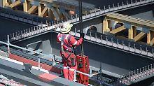 Unter anderem schiebt der Bauboom Deutschlands Wirtschaft an.