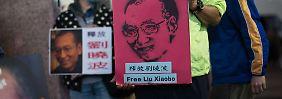 Dissident ist unheilbar krank: China lässt Nobelpreisträger Liu Xiaobo frei