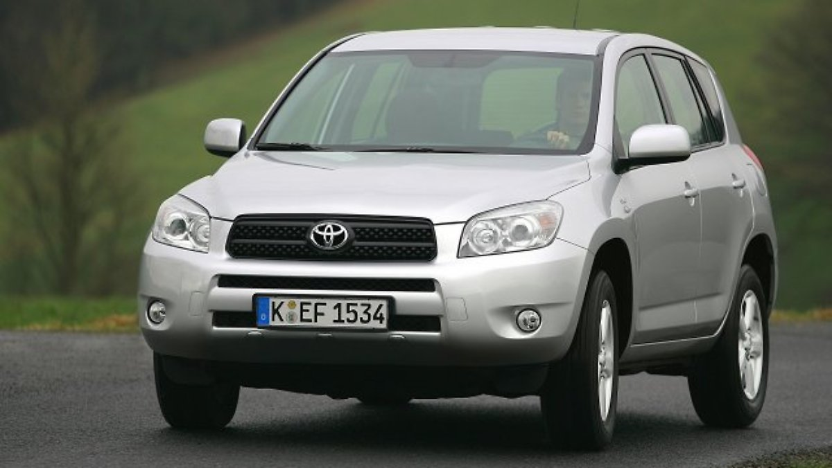 Toyota RAV4 - gebraucht fast perfekt