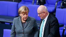 Unionsfraktion stürzt Kauder: Eine Niederlage, aber nicht Merkels Ende