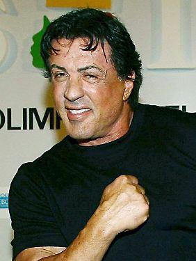 Sylvester Stallone schwört auf Testosteron.