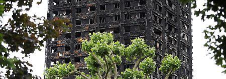 Großfeuer im Grenfell-Tower: Brandschutz war praktisch nicht existent