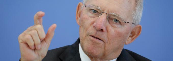 Schwarze Null auch im Wahlkampf: Schäuble hütet Milliardenpuffer