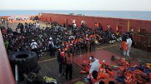 Alleingelassen mit Migranten: Italien droht mit drastischem Schritt