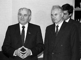 Enttäuschung über Michail Gorbatschow.