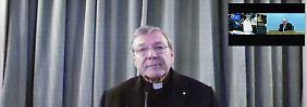 Missbrauch in Australien?: Kardinal legt Amt vorübergehend nieder