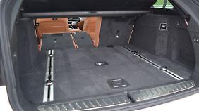 Mit 570 bis 1700 Litern Kofferraumvolumen bietet der 5er Touring ausreichend Stauraum.