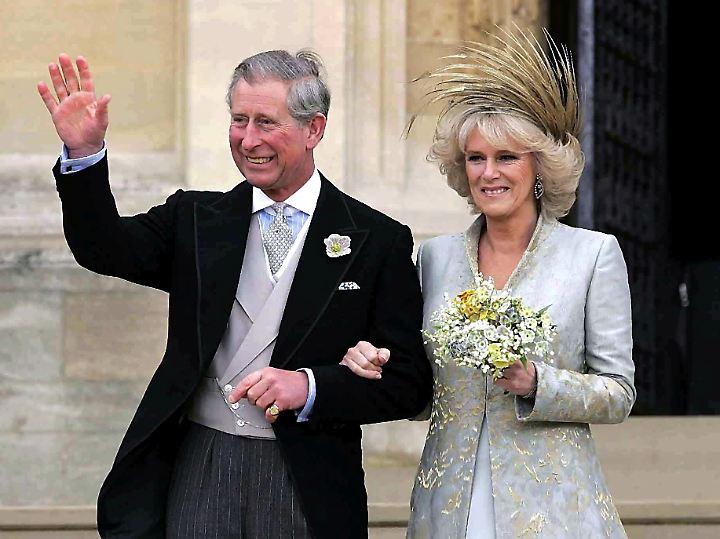 Hochzeit in Windsor 2005.