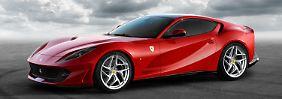 Im Jahr seines 70sten Firmenjubiläums zeigt Ferrari auf dem Genfer Autosalon im März eine neue F12-Generation namens 812 Superfast.