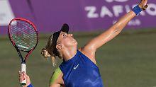 Nach langer Verletzungspause ist Sabine Lisicki zurück auf dem Tenniscourt.