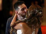 Unter Stars: Lionel Messi hat geheiratet