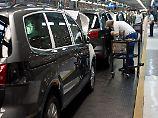 Produktion im VW-Werk im portugiesischen Palmela.