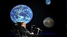 Hawking geht davon aus, dass die Erde über kurz oder lang unbewohnbar wird.